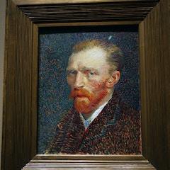 Self-portrait by Vincent van Gogh, 1887