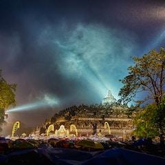 Vesak celebration at Borobudur Temple