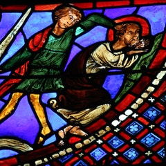 Peter and Paul Window: Martyrdom of Paul