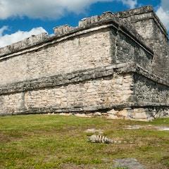El Castillo from Southeast