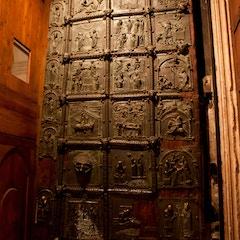 Bronze Doors: Right Door