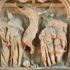 Reredos Detail: Crucifixion