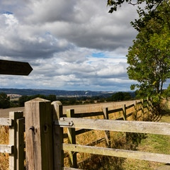 Public Bridleway (Hadrian's Wall Path)