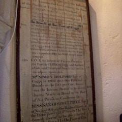 Memorandum plaque