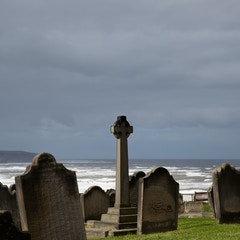 Tombstones and Stormy Seas