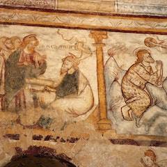 Frescoes of St. John the Baptist
