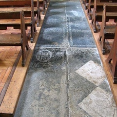 St Peter, Bucknell, Oxon - Ledger slabs