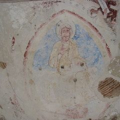 12th-Century Mural of Christ Pantocrator in Apse