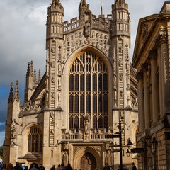 Bath Abbey from West (Bath, England)