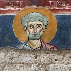 Nave Fresco: St. Peter
