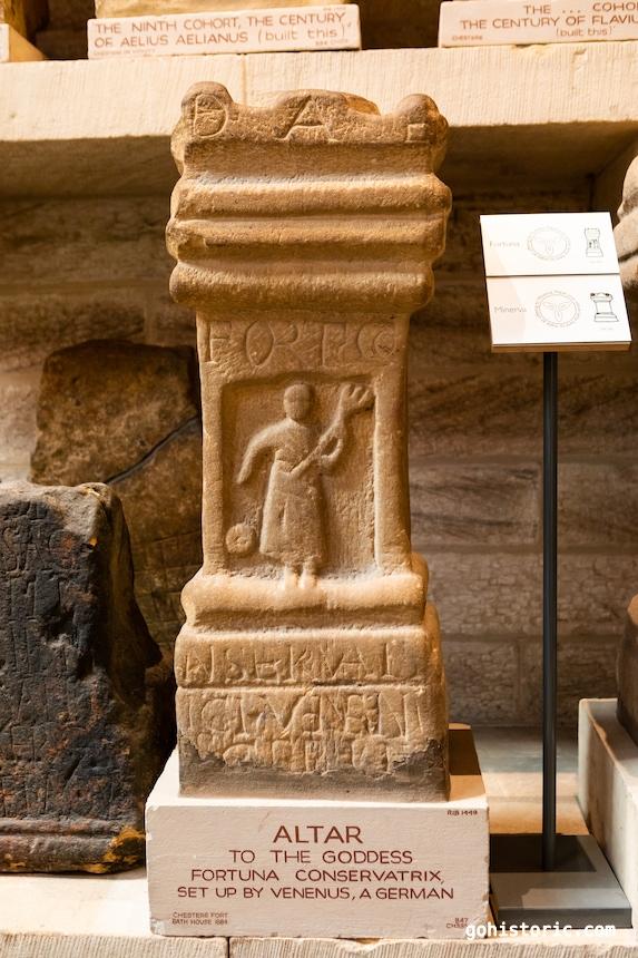 Roman Altar to Goddess Fortuna