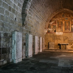 Chapter House with Fresco (Le Puy Cathedral, France)