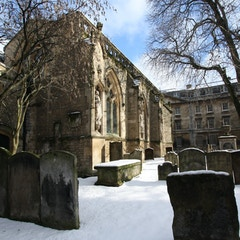St Mary Magdalen's in snow