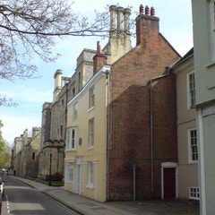 The house in which Jane Austen died, on College Street, Winchester