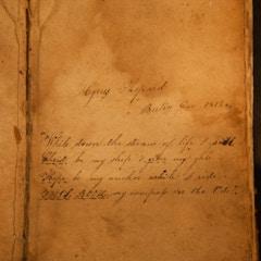 Cyrus Shepard's Bible (1811)