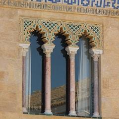Windows of the Upper Royal Quarters, Alcazar, Sevilla, Spain