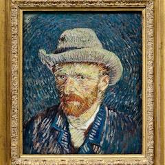 Van Gogh Museum - Self-portrait 1887 - 1888