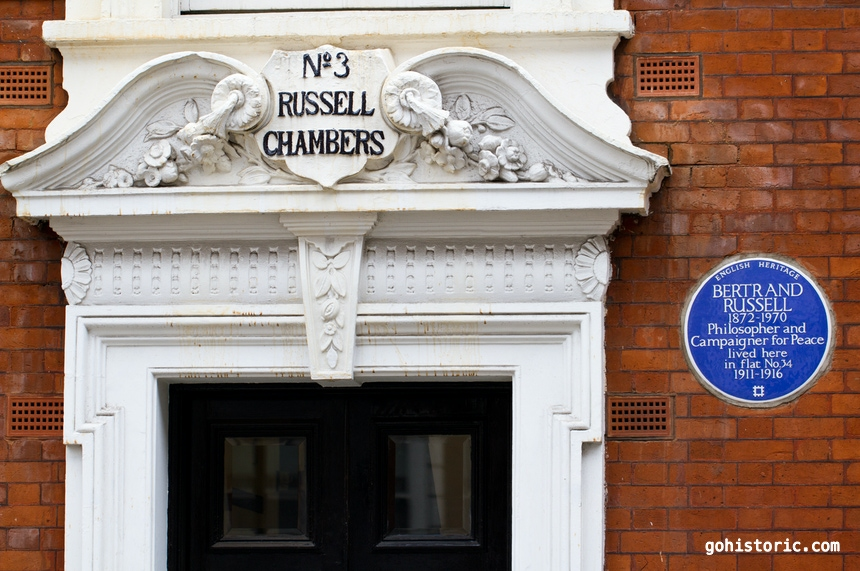 Home of Bertrand Russell