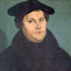 Portrait of Martin Luther in 1529