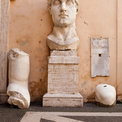 Colossal Statue of Constantine