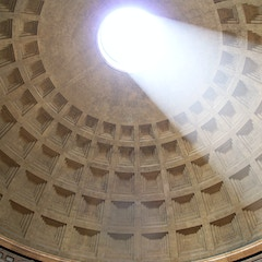 Dome Interior with Oculus, Pantheon