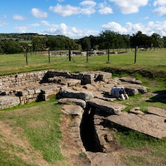 Looking into History at Chesters Roman Fort