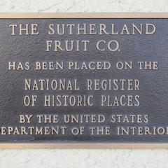 Sutherland Company NRHP Marker