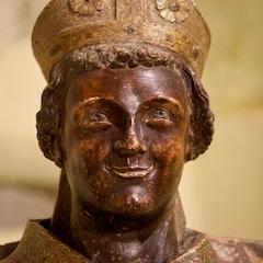 Laughing Saint Zeno (Detail)