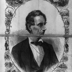 Portrait of Abraham Lincoln, President Elect