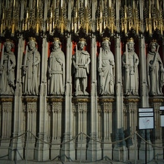 English Kings on Left Side of Pulpitum or Choir Screen