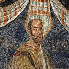 Dome Mosaic: Apostle Paul