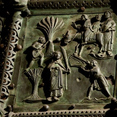 Bronze Door: Triumphal Entry