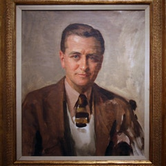 Portrait of F. Scott Fitzgerald in 1935