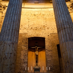 Niche with Crucifix